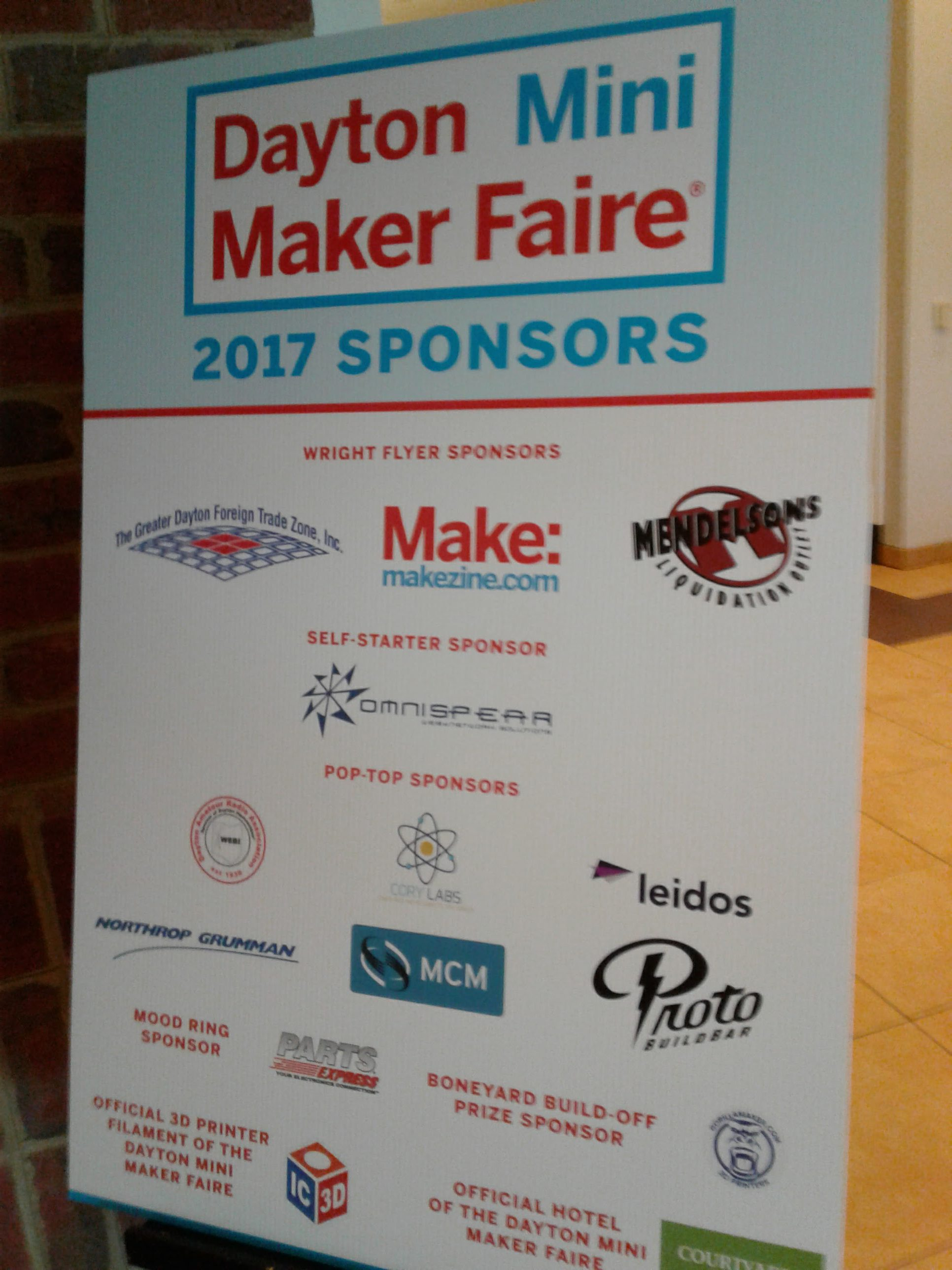 i hope you enjoyed this post and hopefully we got to meet at the maker faire the next one up on my schedule is cincinnati in october of 2017